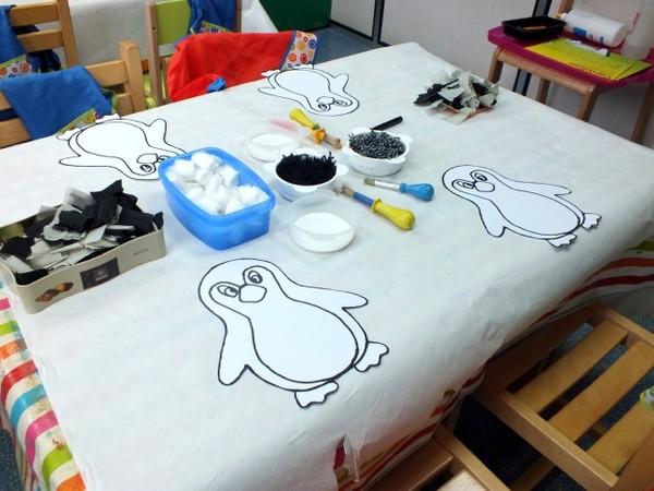 Bien-aimé manuelle : habillage du pingouin XX43