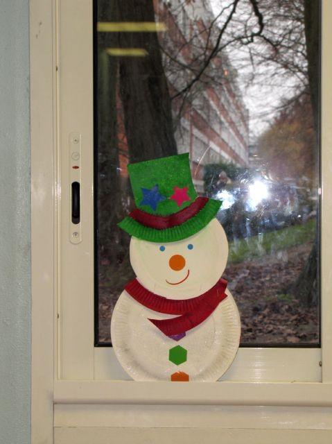 Voil le mod le du bonhomme de neige - Modele bonhomme de neige ...