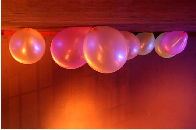 Ballons de baudruche au plafond - Gonfler ballon sans helium ...